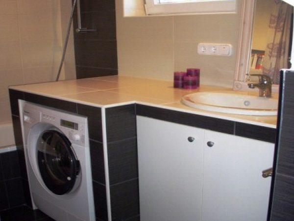 épített mosdó pult
